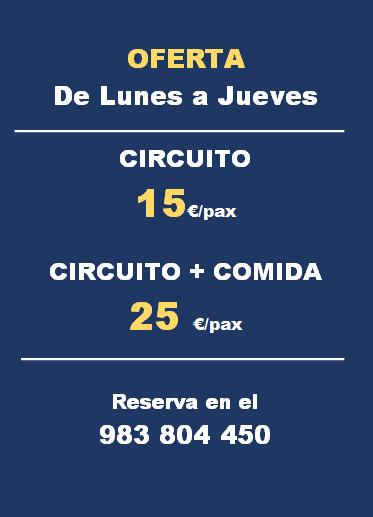 CIRCUITO DE LUNES A VIERNES