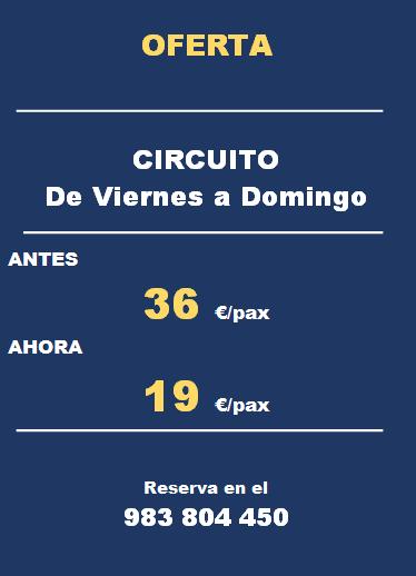 CIRCUITO DE VIERNES A DOMINGO JULIO