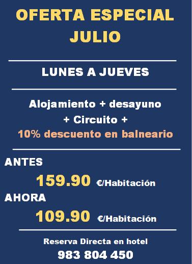 LUNES A JUEVES JULIO