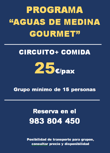 PROGRAMA AGUAS DE MEDINA GOURMET