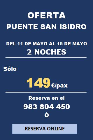 SAN ISIDRO 2 NOCHES