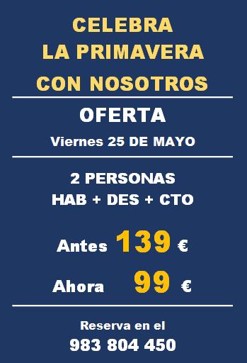 oferta 24 mayo